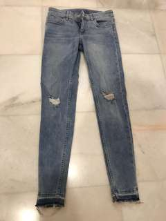 H&M Ripped Jeans