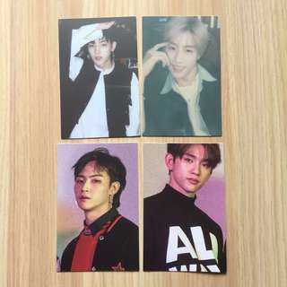 [WTS FREE NM] GOT7 Eyes On You Photocards