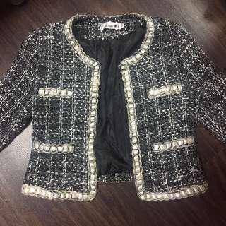 Tweed Jacket/ blazer in blue