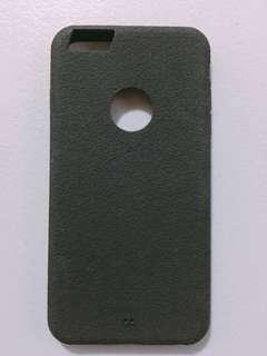 Black rubber iphone 6/6s plus case