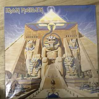 Iron Maiden-Powerslave (first U.K pressed vinyl)