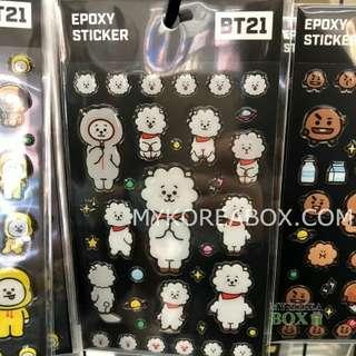 BTS x MONOPOLY Epoxy Sticker