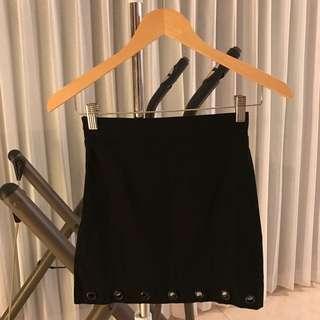 Hk black skirt