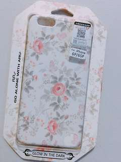 Floral iphone 6/6s plus case