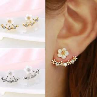 Cherry Blossoms Stud Earings