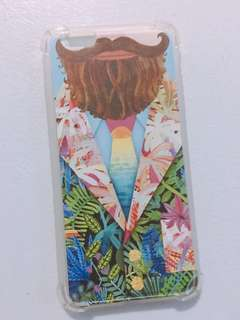 Mustache bumper iphone 6/6s plus case