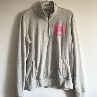 Authentic Pink Quater Zip