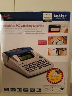 Brothers P-touch label printer