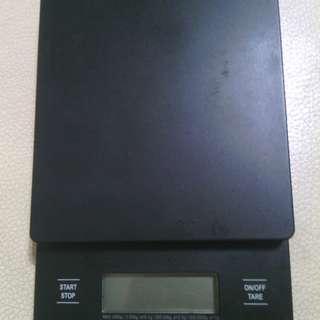 二手 日製 HARIO 電子秤 VST-2000 VST2000 功能正常 計時 秤重 2000g 咖啡