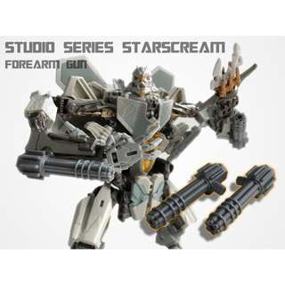 Forearm Guns for Studio Series Starscream