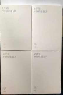 BTS/防彈少年團 Love yourself韓版專輯一套(二手)