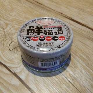 喜樂寵宴鮮貓道之新鮮機能晶凍罐-白身鮪魚+雞肉+蟹