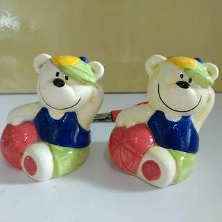 小熊造型調味樽