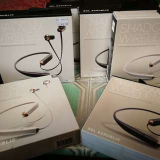 Sol Republic Shadow Wireless In-ear Earphones