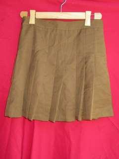 Pleaded Tennis Skirt