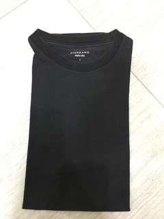 Giordano Black Cotton Shirt