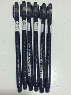 Silver Crown 0.35mm Blue Gel Ink Pen