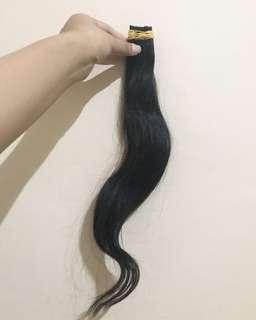 Rambut extension / rambut sambung