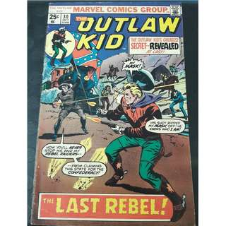 The Outlaw Kid #10