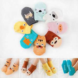 Baby Socks with Cute Animal Ear (2 pairs for Rm10)
