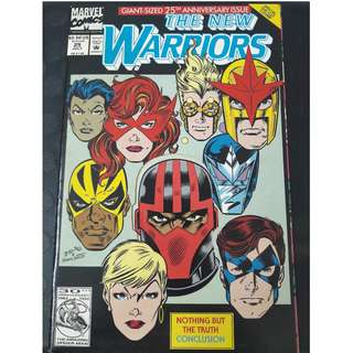 The New Warriors #25