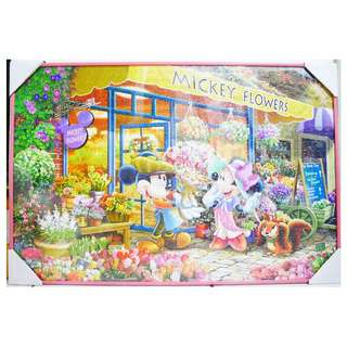 Disney 米奇米妮花園拼圖