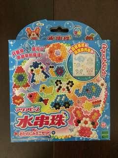 🚚 [二手]水串珠 手作 DIY 項鍊 戒子 手環 創意玩具