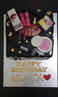 Customised Birthday Cake / Make up Theme