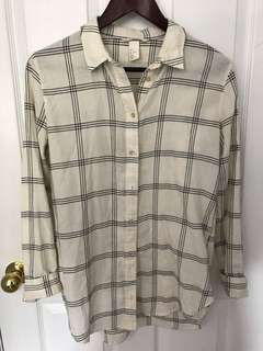 HnM striped button up