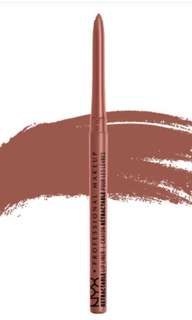 NYX sand beige lip liner