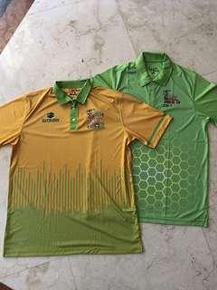 2pcs Golf T-shirts