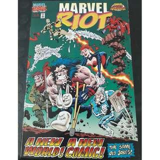 Marvel Riot #1