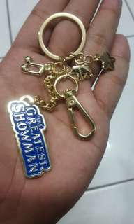 The greatest showman keychain