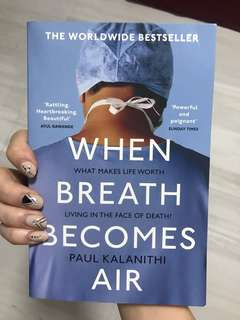 [NEW]When breathe becomes air