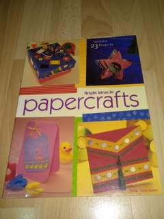 Art & Craft Book - Bright Ideas in PaperCrafts