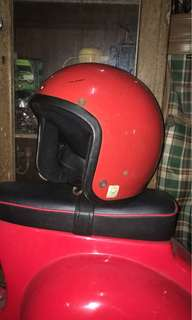 Helmet vintage magnum /// fiber