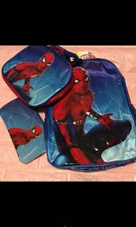 Instock authentic spiderman bag brand new ht 38cm 3in1
