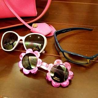國外帶回幼兒造型太陽眼鏡墨鏡