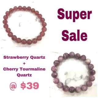 Natural Crystal Bracelet