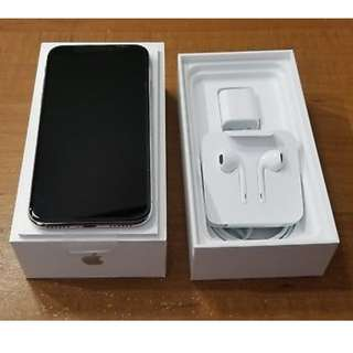 iphone x ~unlocked~ complete set silver