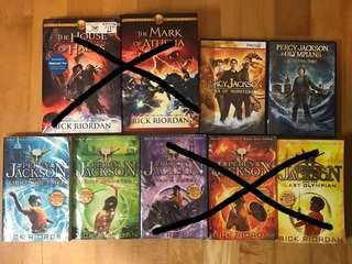 Percy Jackson Books & DVDs