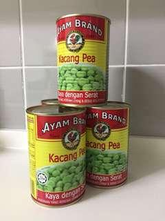 Ayam Brand Peas (4 tins)