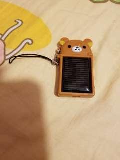 鬆弛熊太陽能叉电器 (包郵)