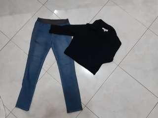 celana dan baju IDR100K SAJA