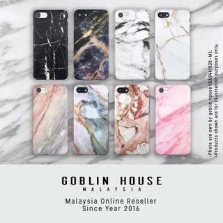 Marble Matte Soft iPhone Case