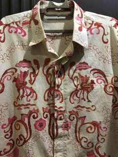 Batik Tulis Short Sleeves