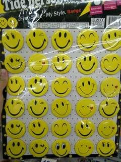 Emoji badge