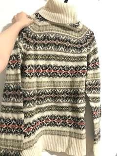 Zara man sweater turtle neck