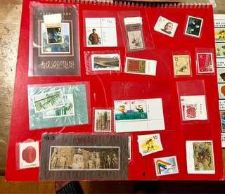 1993年中國全年17套郵票+小全張