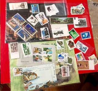1995年中國全年27套郵票+小全張